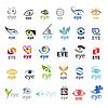 Векторный клипарт: Самая большая коллекция логотипов Eye
