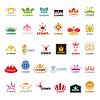 Größte Sammlung von Logos Krone