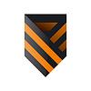 logo St George Farbband in Form von Schild