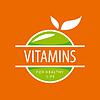 logo Vitamine grünen Äpfeln
