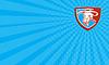 ID 4596039 | Wizytówka gniewnych Texas Longhorn Bull Głowa | Stockowa ilustracja wysokiej rozdzielczości | KLIPARTO