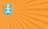 ID 4645768 | Visitenkarte Weightlifter Hebekettlebell Shiel | Illustration mit hoher Auflösung | CLIPARTO