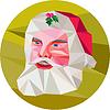 Weihnachtsmann Weihnachtsmann Low Polygon