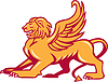Winged Lion Side Retro