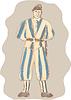 Schweizer Garde Standing Sketch