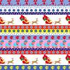 Weihnachten nahtlose Muster mit Weihnachts