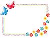 Valentine karty z pozdrowieniami z motyli | Stock Vector Graphics