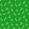 Nahtlose Muster mit weißen Kaninchen auf grünem