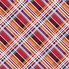 Diagonal Tartan nahtlose Beschaffenheit vor allem in warmen Farben