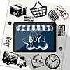 Векторный клипарт: Интернет-магазин, электронная коммерция, доставка, платежи