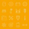 ID 4796516 | Serwis samochodowy zestaw ikon cienkie linie | Klipart wektorowy | KLIPARTO