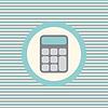 Kalkulator ikona kolor płaskim   Stock Vector Graphics