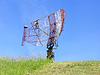 Radaru obrony powietrznej | Stock Foto