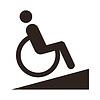 Untaugliches Zeichen - Behindertengerechte