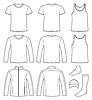 Singlet, T-Shirt, Longsleeve, Jacke,