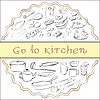 gehen in die Küche