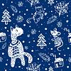 doodle Schneeflocken