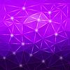 Векторный клипарт: Современный абстрактный геометрический фиолетовый фон