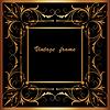 ID 4612729 | Rahmen mit Platz Ornament | Stock Vektorgrafik | CLIPARTO