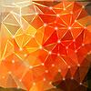 Nowoczesne geometryczne tło z wielokątów, kryształ | Stock Vector Graphics