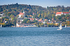Starnberg at autumn | Stock Foto