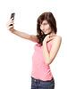 Dziewczyna Selfie | Stock Foto