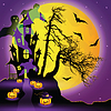 Halloween Hintergrund | Stock Vektrografik