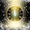 Alte Uhr Urlaub Lichter | Stock Vektrografik