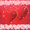 Abstract background In den Valentinstag. | Stock Vektrografik