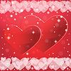 Abstrakcyjne tło do Walentynki. | Stock Vector Graphics