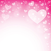 Streszczenie tle z Walentynki | Stock Vector Graphics