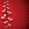 Abstract background In den Valentinstag | Stock Vektrografik