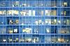 Ludzie pracują w biurach budynkach | Stock Foto
