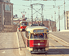 Retro trams | Stock Foto