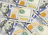 Tło z pieniędzy amerykańskich sto dolarów rachunki | Stock Foto