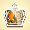 Векторный клипарт: Эскиз короны палки