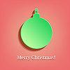 Рождественский бал в стиле винтаж | Векторный клипарт