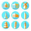 Wohnung Architektur Symbole