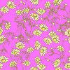 Дейзи цветок в стиле эскиза | Векторный клипарт
