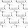Круги в 3D с линии бесшовные модели | Векторный клипарт
