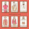 Sketch Mafia Karten im Vintage-Stil
