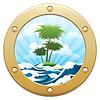 ID 4921253 | Palm Island | Klipart wektorowy | KLIPARTO