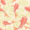 Karpfen-Muster-