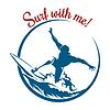 Surf Emblem | Stock Vektrografik