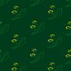 Löwenzahn auf grünem Hintergrund