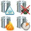 Векторный клипарт: Краска Properties Icons