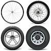 Reifen für Fahrrad-Motorrad und LKW