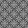 Black - white seamless pattern | Stock Illustration