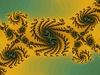 Dekoracyjny fraktalna tle w jasnych kolorach | Stock Illustration