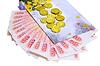 Pudełko i banknoty | Stock Foto